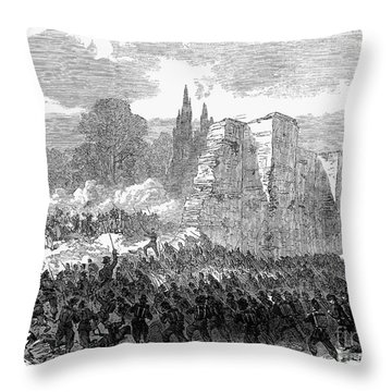 Italy: Unification, 1870 Throw Pillow by Granger