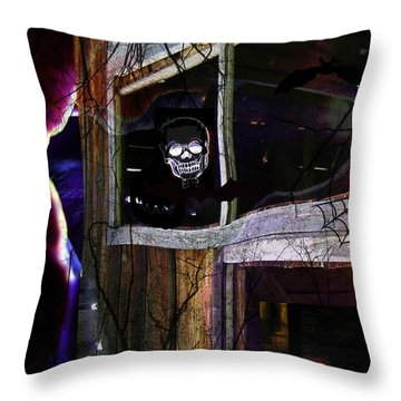 It's The Night When... Throw Pillow by Shirley Sirois