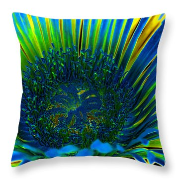 I've Got The Blues Throw Pillow