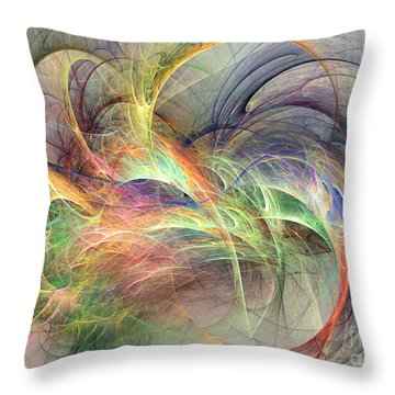 I've Made Up My Mind Throw Pillow
