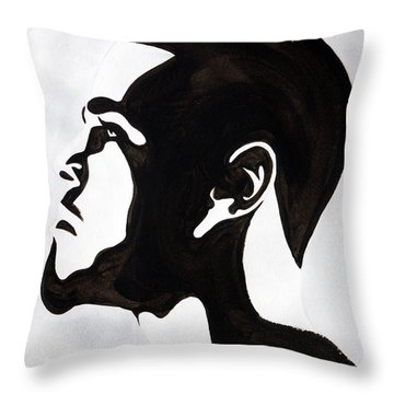 J. Cole Throw Pillow by Michael Ringwalt