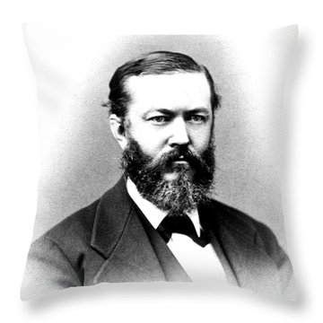 J. J. Woodward, American Pioneer Throw Pillow by Science Source