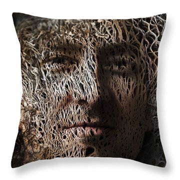 Jack In The Green Throw Pillow by Christopher Gaston