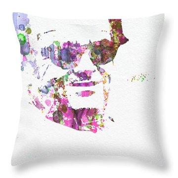Jack Nicolson 2 Throw Pillow