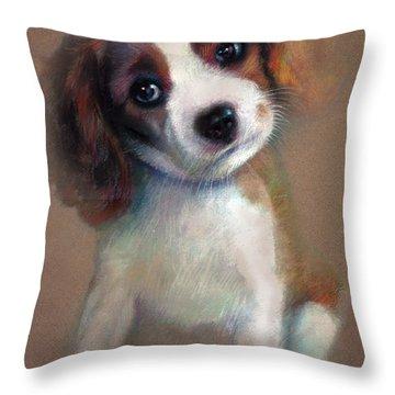 Jack Russell Terrier Dog Throw Pillow
