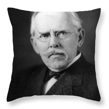 Jacob A. Riis (1849-1914) Throw Pillow by Granger