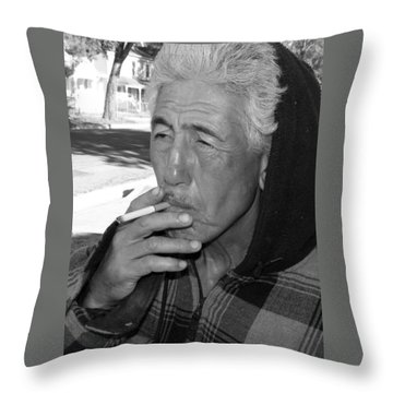 Jake From The Neighborhood Throw Pillow by Lenore Senior