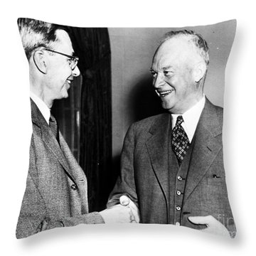 James Bryant Conant Throw Pillow by Granger