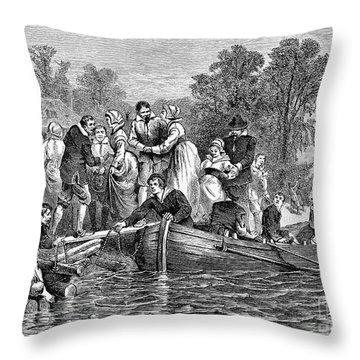 Jamestown: Women Throw Pillow by Granger