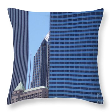 jammer Chicago 014 Throw Pillow by First Star Art