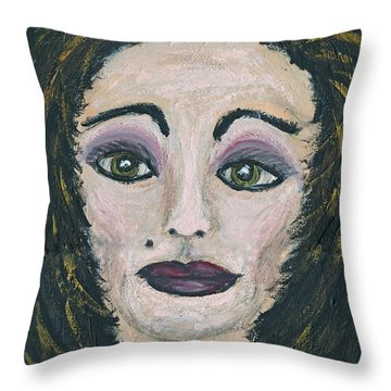 Jane Not Plain Throw Pillow