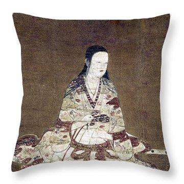 Japan: Portrait, C1575 Throw Pillow