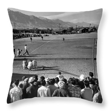 Japanese Internment, 1943 Throw Pillow by Granger
