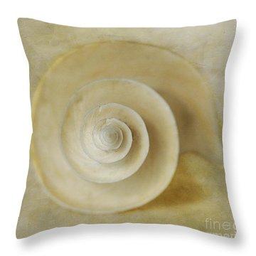 Japanese Wonder Shell Throw Pillow