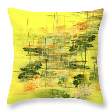 Serene Scene I Throw Pillow