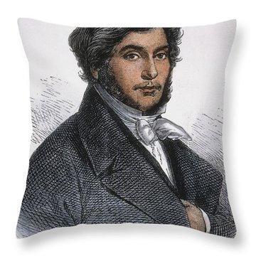 Jean-francois Champollion Throw Pillow by Granger
