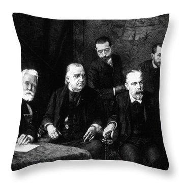 Jean-martin Charcot, French Neurologist Throw Pillow