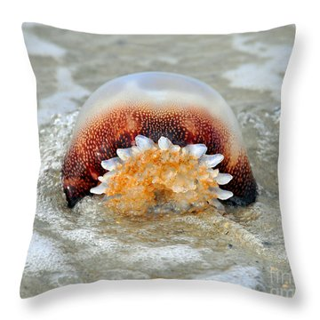 Jelly In A Jam Throw Pillow