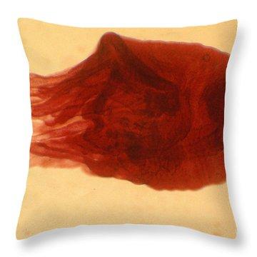 Jellyfish Polyp Throw Pillow