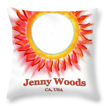 Jenny Woods Throw Pillow