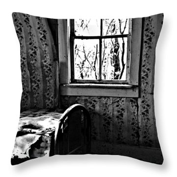 Jennys Room Throw Pillow by The Artist Project