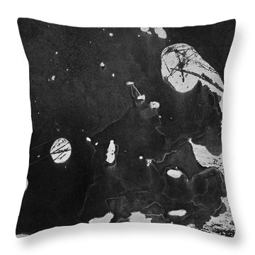 Jerome Abstract No.1 Throw Pillow