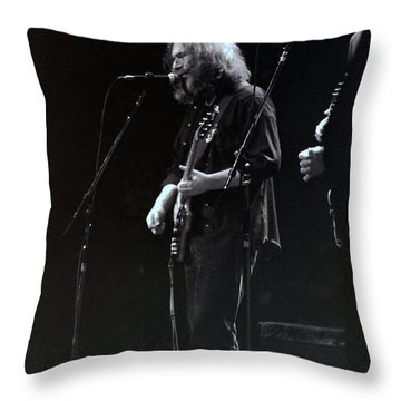 The Grateful Dead -  East Coast Throw Pillow