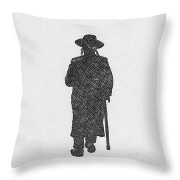 Jerusalem Throw Pillow by Annemeet Hasidi- van der Leij