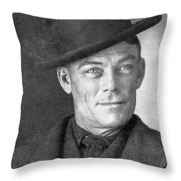 Jesse Linsley (b.1868) Throw Pillow by Granger