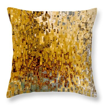 Jesus Christ The Creator Throw Pillow by Mark Lawrence