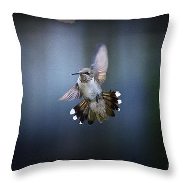 Jet Fighter Throw Pillow