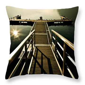 Jetty Throw Pillow by Joana Kruse