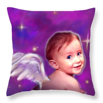 Jewell.angelic 3 Throw Pillow