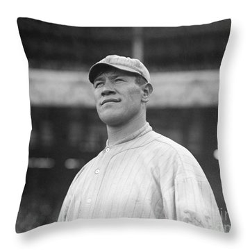 Jim Thorpe (1888-1953) Throw Pillow by Granger