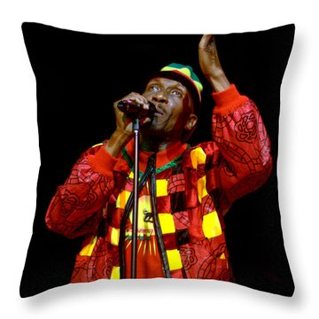 Jimmy Cliff Throw Pillow
