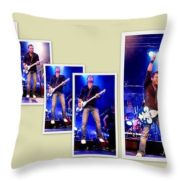 Throw Pillow featuring the photograph Jlb  Lys  Rock   by Danielle  Parent