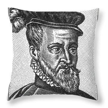 Joachim Du Bellay Throw Pillow by Granger