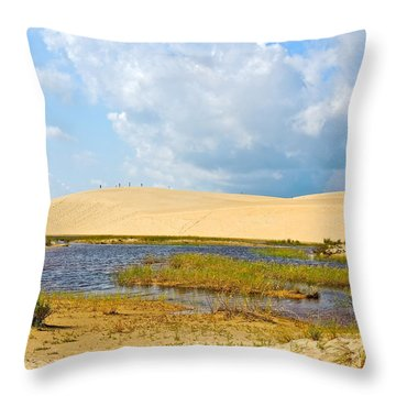 Jockey's Ridge Throw Pillow