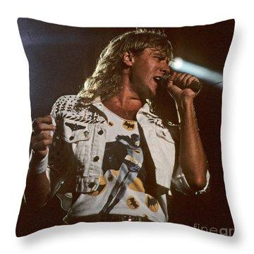 Joe Elliot Throw Pillow