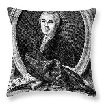 Johann Adolf Hasse Throw Pillow by Granger
