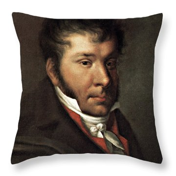 Johann Hummel (1778-1837) Throw Pillow by Granger