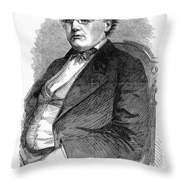John Albion Andrew Throw Pillow by Granger