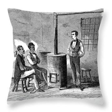 John Brown Raid, 1859 Throw Pillow by Granger