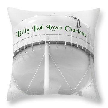John Deere Green Throw Pillow by Andee Design