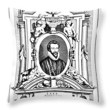 John Donne (1573-1631) Throw Pillow by Granger