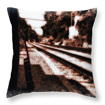 Johnny B Gone Throw Pillow by Bill Cannon