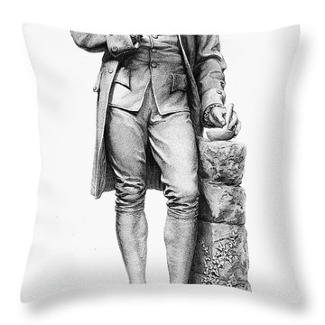 Joseph Priestley (1733-1804) Throw Pillow by Granger