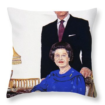 Jubilee Throw Pillow by Michael Haslam