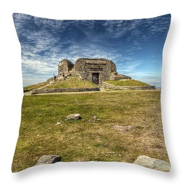 Jubilee Tower Throw Pillow by Adrian Evans