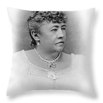 Julia Dent Grant (12826-1902) Throw Pillow by Granger